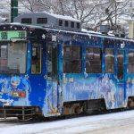 冬の札幌を彩る雪ミク電車2017