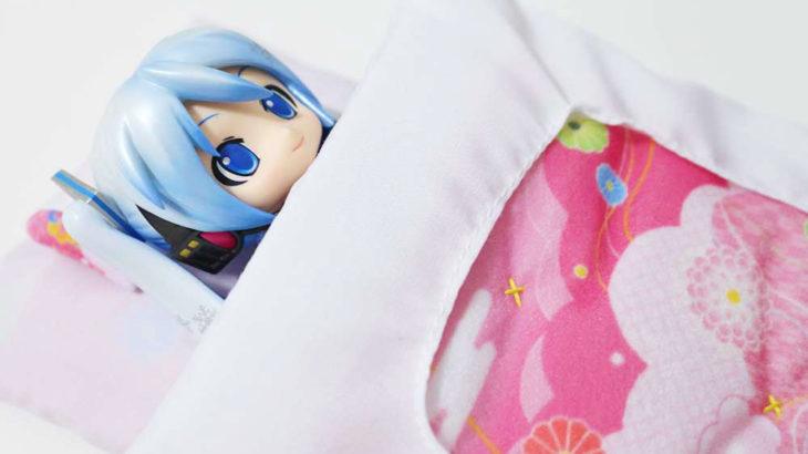 【お泊り会でも安心♪】タイトー フィギュア用 ミニ布団