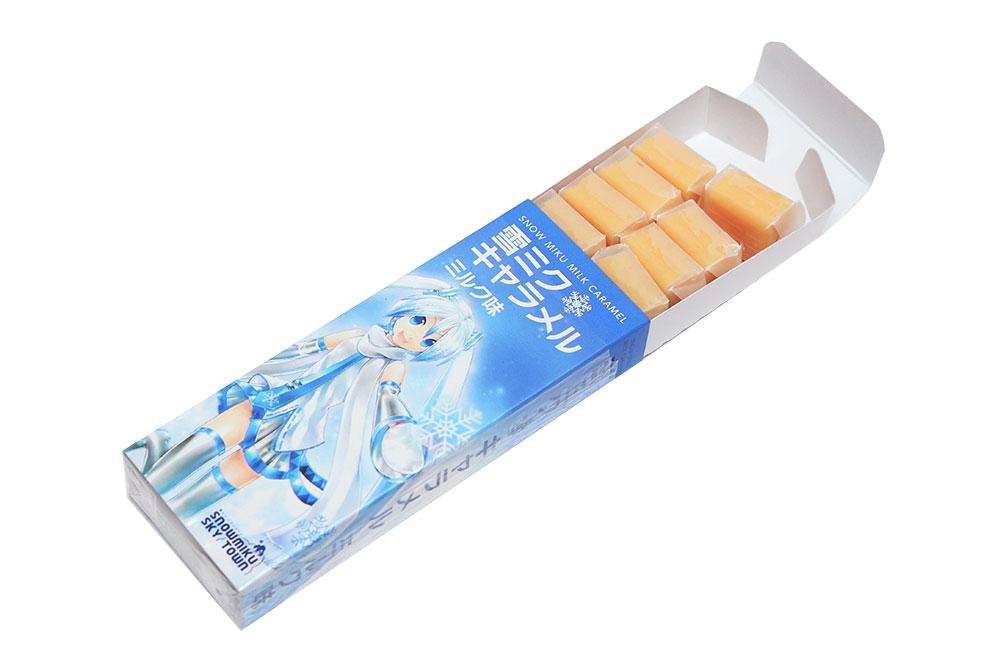 雪ミクキャラメル ミルク味