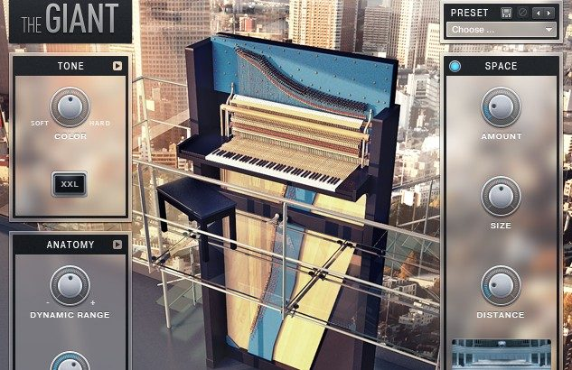 【レビュー】「THE GIANT」は全高3m&総重量2tの超巨大ピアノをサンプリングした音源!!