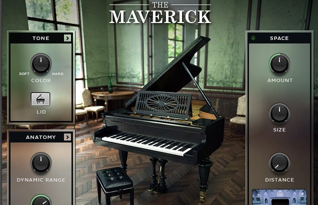 【レビュー】「THE MAVERICK」は1905年製、ヴィンテージのグランドピアノ音源
