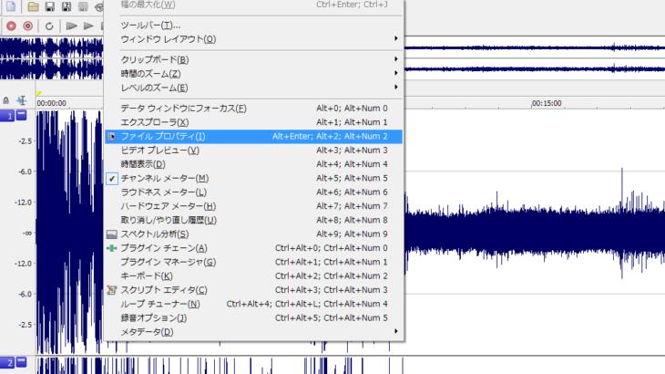 Sound Forge Proでステレオ→モノラルに変換する方法