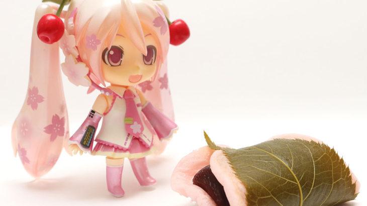桜ミクと桜餅