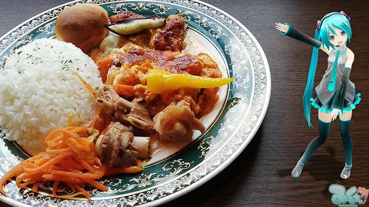 ミクさんはウズベキスタン料理のお店「ALOHIDDIN」に来ました