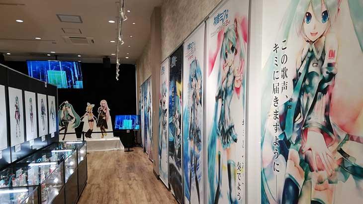 秋葉原のセガで「初音ミク Project DIVA」10周年記念展示、スタンプラリーなど開催中!!