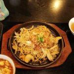 ミクさんは瀋陽飯店でオホーツク北見塩焼きそばを食べました