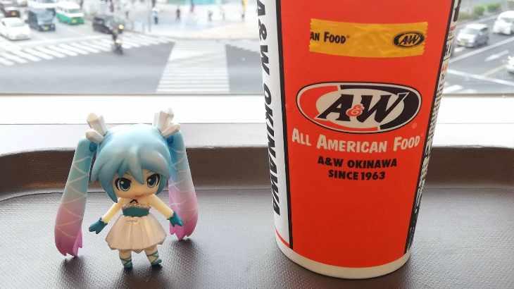 みくりすたる☆さんたちはA&Wでルートビアフロートを飲みました