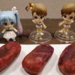 みくりすたる☆さんと亜美ちゃん、真美ちゃんは「うむくじ天ぷら」を食べました