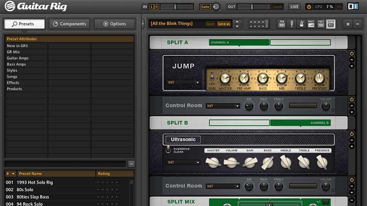 【比較あり】DTMerを一皮剥かせるギターアンプシミュ「GUITAR RIG」でギターサウンドを熱く歪ませよう!!