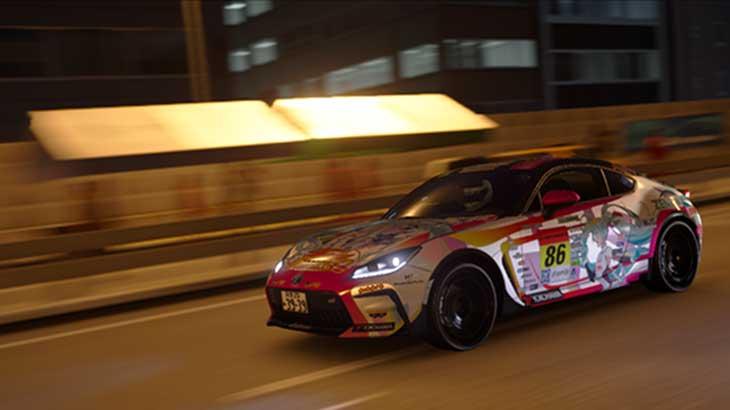 【PS4】グランツーリスモSPORTのユーザーデカール機能でミクカーや自作痛車を楽しもう!!